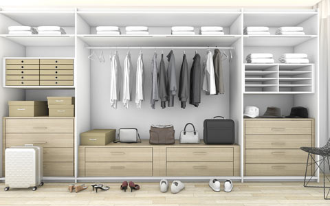 Mod Craft Walk-in-Wardrobe 1